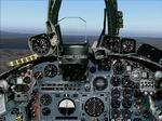 FS2004                   Photorealistic Buccaneer Panel.