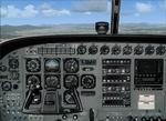 FSX                   2D Cessna C208 Caravan Panel.