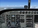 FSX                   Alternative Cessna C208 Caravan 2D panel.