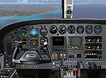 FS2004                   Cessna 421 Golden Eagle Panel.