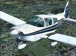 FSX/FS2004                    Grumman AA-5 Cabair 'G-OTIG' Textures Only.
