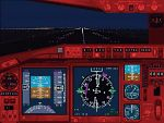 FS2000                   Boeing 777 panel. Includes custom night-lit gauges