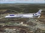 FS2004/2002                   Cornerstone Cargo CRJ-700