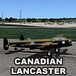 FSX Canadian MkX Lancaster - UK Tour