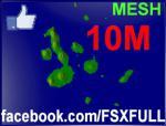 10M Galapagos Islands Terrain Mesh