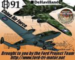 deHavilland DH91 Albatross - China-AF Textures