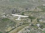 FS2004                     Columbus Ohio (OH) photorealistic VFR scenery Part 1