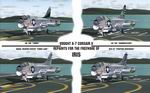 FS2004                   Textures Package for IRIS A-7 Corsair II.