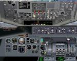 Mc Donnell Douglas DC 10 2D panel