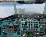 Mc Donnell Douglas DC9 2D panel