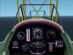 FS2002                   De Havilland DH82A Tiger Moth Panel.