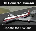 FS2002                   de Havilland Comet 4c DAN-AIR Livery