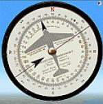 DR-2 Flight Calculator Gauge