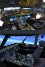 FSX Airbus Gray Cockpit Texture Upgrade