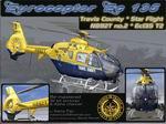 """FS2004                   Eurocopter EC 135 Travis County Star Flight """"N892T"""" Package."""