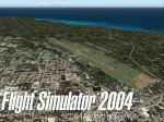 FS2004                     Splashscreen of Guam.