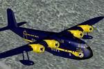FS2004                   Short Empire Alaska Coastal Airways Blue Textures only