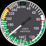 Essential gauges - speed gauges update for Saitek Pro Flight Instrument Panel