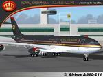 FS2004                   Project Opensky A340-211 Royal Jordanian NC