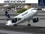 FS2004                   Project Airbus Airbus A320-231 Compania Mexicana de Aviacion