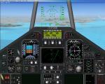 Lockheed F117 Stealth  2D panel