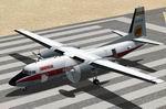 Fokker F27-200 Iberia Textures