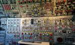 Concorde flight engineer panel