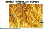 Bhutan Mountains Route and Scenery