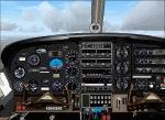 FS2004                   Cessna 337 panel.
