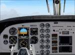 FS2004                   King Air C90 Photoreal 2D panel.