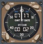 FSX/FS2004 Boeing 747 Clock