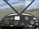 FSX/FS2004 Piper PA-18 Supercub Panel