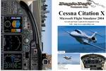 FS2004                   Manual/Checklist: Cessna Citation X
