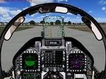 FS2004                   F-18 / Generic Modern Military Fighter Jet Panel