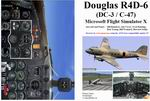 FSX                   Manual/Checklist Douglas R4D-6 NATS