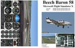 FSX                   Manual/Checklist Default Beechcraft Beech Baron 58