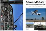 FSX                   Manual/Checklist Default Maule M7-260C Orion