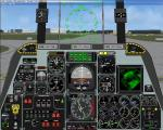 Fairchild A10 Thunderbolt 2D panel