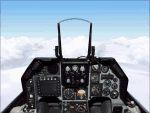 FS2000                     panel: F-16A Falcon VFR fun panel