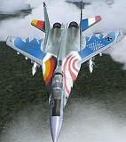 FS2004                   MiG-29 Fulcrum Farewell Special Textures