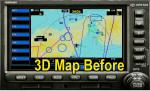 Default GPS with 3D Map and AI Traffic Disply