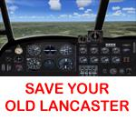 Generic 2D Lancaster Panel for FSX