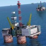 Gulf of Mexico Oil Rigs Package