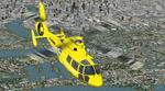 FS2004                   HH65A Dolphin, Helicopter Emergency Medical Service (HEMS) 2                   Texture Sets.