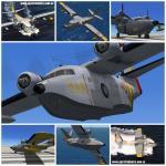 FSX SAR Textures only for the Virtavia (Alphasim) HU-16 Albatross