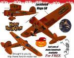 Lockheed Vega 5 Halloween Theme