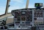 FS2000                   Hercules C130 High Resolution Photoreal panel.