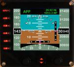 Integrated Standby Flight Display for Saitek Pro Flight Instrument Panel