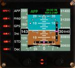Integrated Standby Flight Display version 2 for Saitek Pro Flight Instrument Pane