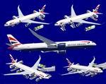 FSX                   Airbus A350-900(R) British Airways